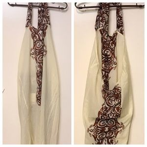 Anthropologie Cotton Halter Cover-Up Dress NWT